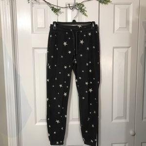 Fleece draw string joggers (pajama pants)